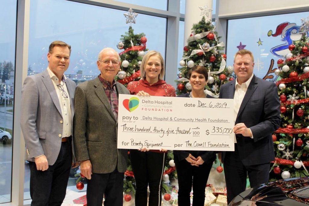 5K donation nets new surgical, infection control equipment for Delta Hospital – Cloverdale Reporter – Cloverdale Reporter