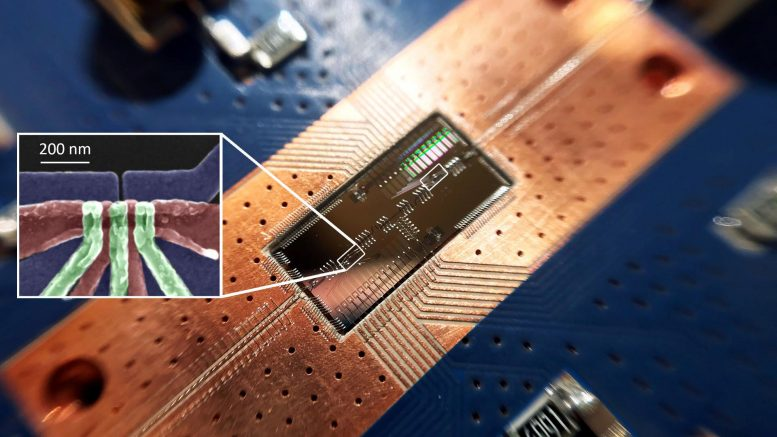 Quantum Computing Breakthrough: Silicon Qubits Interact at Long-Distance – SciTechDaily