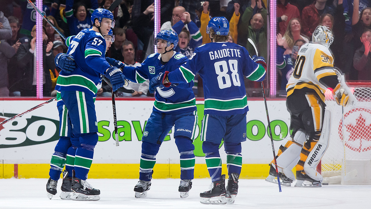 Pettersson, Miller have two points each to lead Canucks past Penguins – Sportsnet.ca