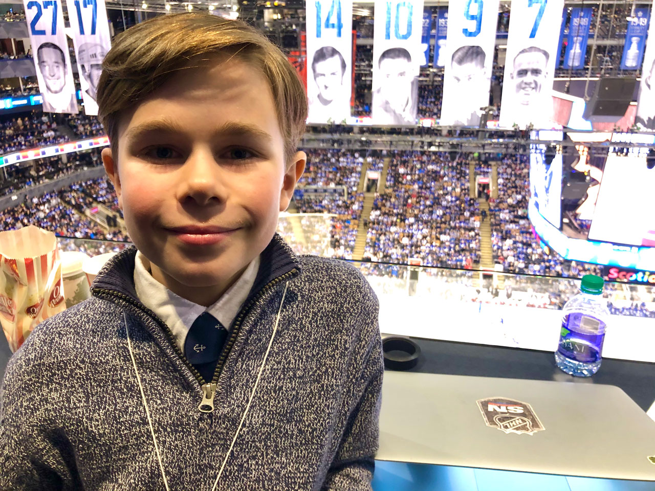Maple Leafs' win over Hurricanes through the eyes of a nine-year-old – Sportsnet.ca