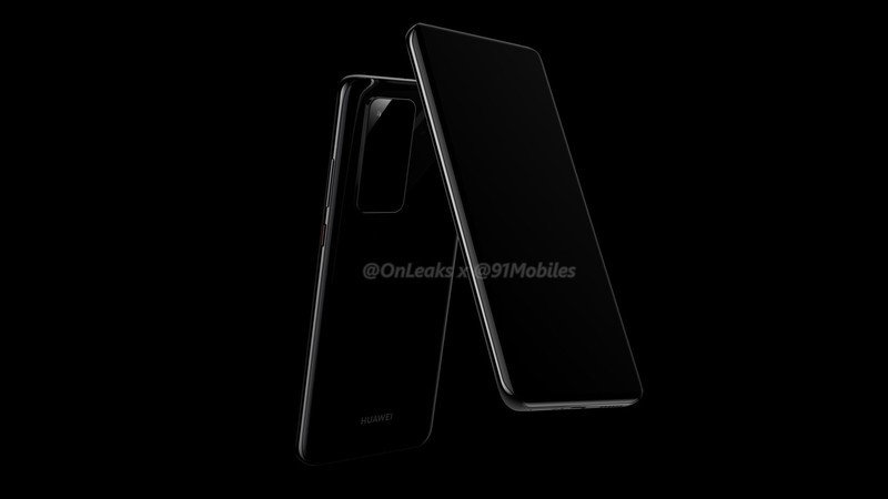 Huawei P40 Pro and P40 renders show sleek curves and no notch – Sky Statement