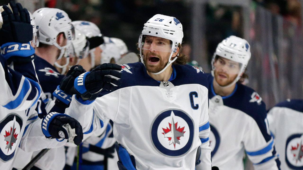 Blake Wheeler becomes franchise scoring leader, Jets beat Wild – Sportsnet.ca