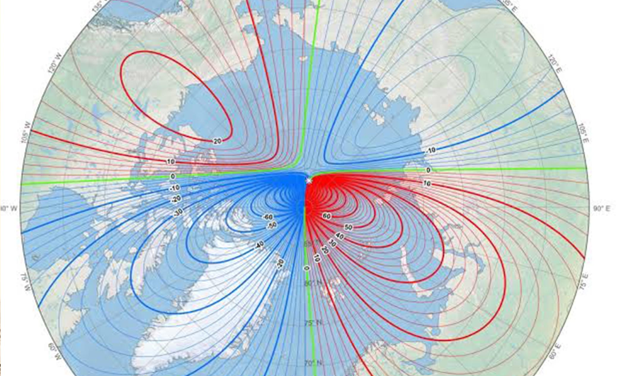 Earth's Magnetic North Pole Is Officially Moving Towards Siberia And Scientists Are Baffled! – Mashable India
