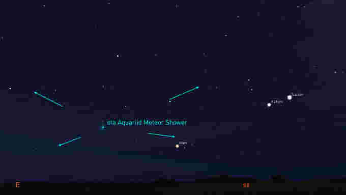 How to watch tonight's eta Aquariid meteor shower from anywhere – The Weather Network
