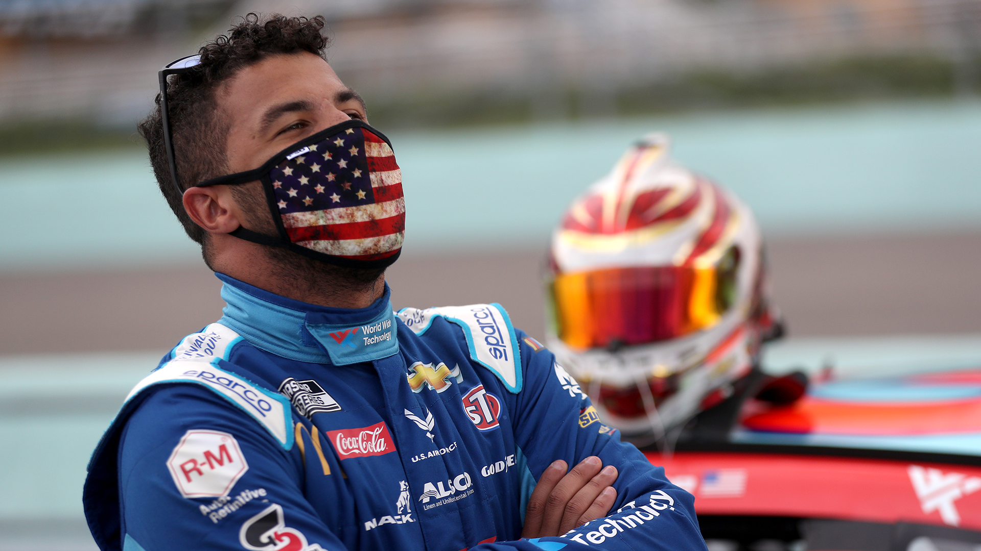 Mike Skinner's son said Bubba Wallace should've been dragged 'around the pits' with noose – Sporting News