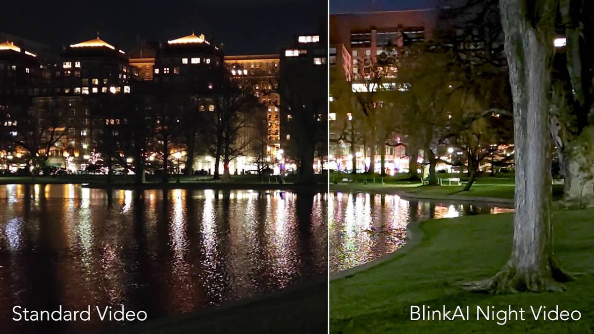 Here's a demo of the Xiaomi Mi 11's Night Video mode powered by BlinkAI – XDA Developers