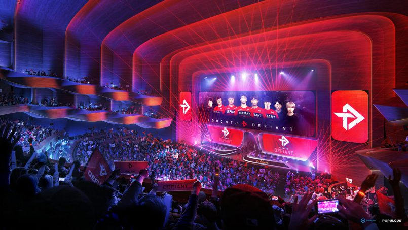 OverActive Media Moving Forward With Populous on 0M Venue Project – The Esports Observer