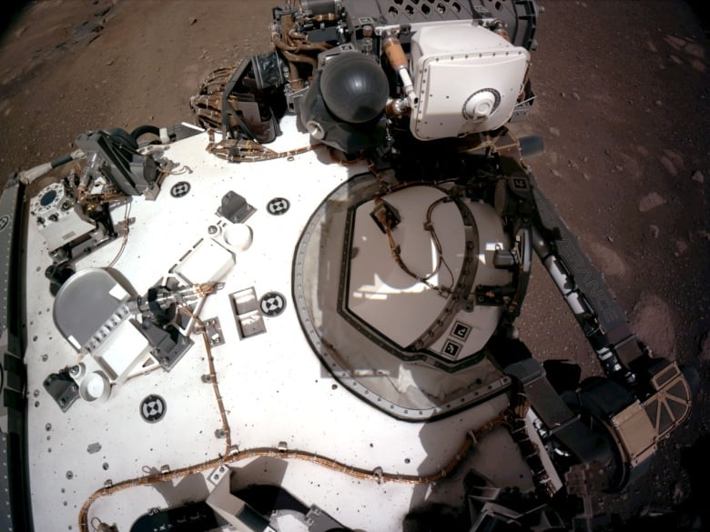 NASA releases 'amazing' new landing video and images from Mars Perseverance landing – CBC.ca