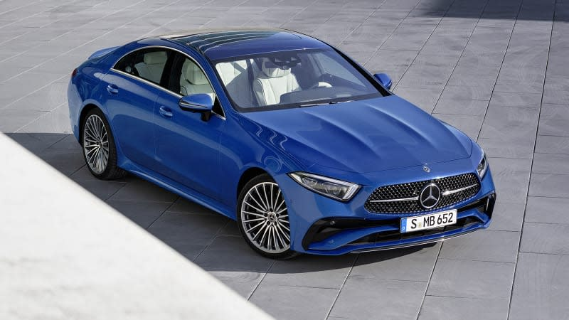 2022 Mercedes-Benz CLS-Class gets updated styling – Yahoo Canada Finance