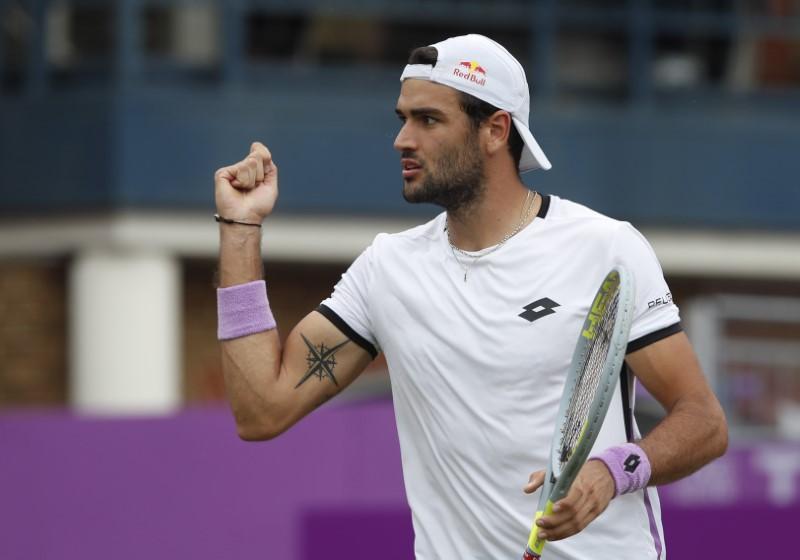Berrettini ends Murray's comeback at Queen's